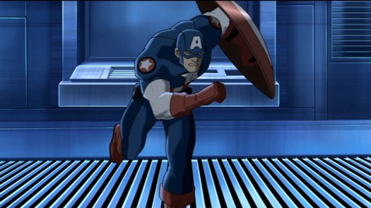 Captain America-Compitent To The Mission!