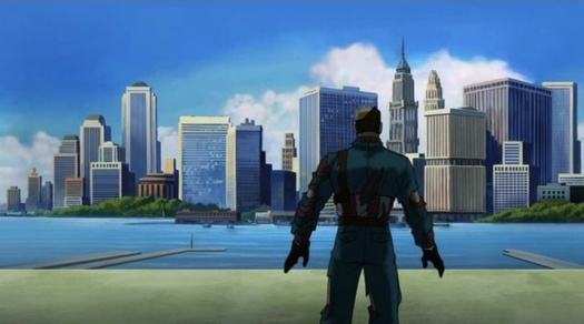 Captain America-Welcome To The Future! (2)