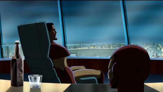 Iron Man-Contemplation Time!