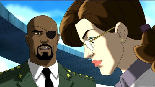 Nick Fury-We're Making Progress, Betty!
