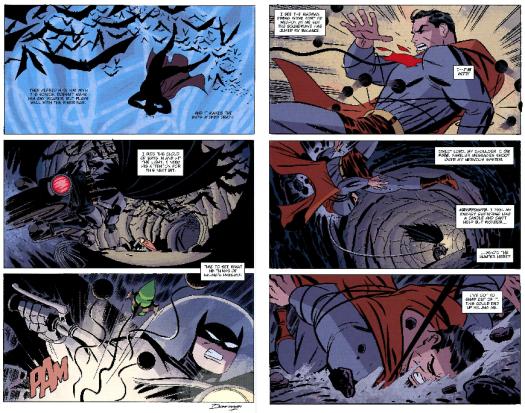 Batman-Superman Is At My Mercy!