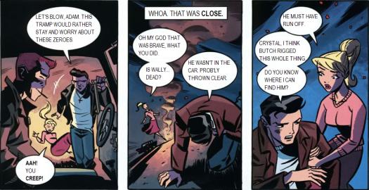 Dick Grayson-Suave & Gettin' Some Info!
