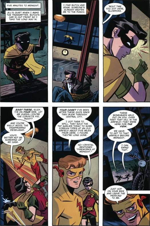 Robin-A Speedster Approaches!