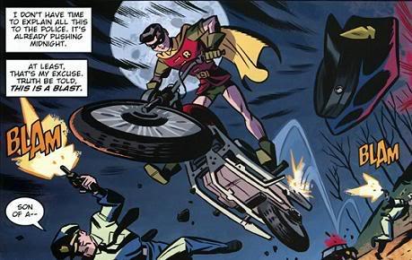 Robin-In Pursuit!