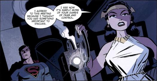 Wonder Woman-I'm Not Hunting Down A Friend!