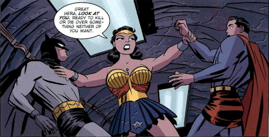 Wonder Woman-This Fight Has Gone On Long Enough!