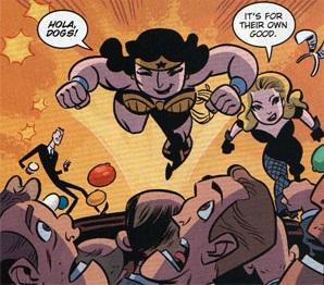 Wonder Woman & Black Canary-Hooray To Violence Towards Men!