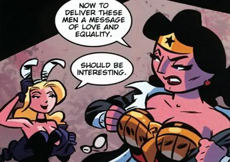 Wonder Woman & Black Canary-Let's Shut Down This Sexist Parade!
