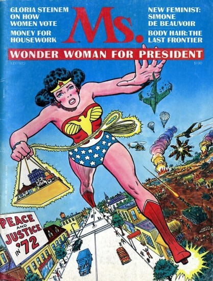 Wonder Woman-Hero To Gloria Steinem!