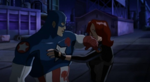 Captain America-I Don't Need Your Pity, Black Widow!