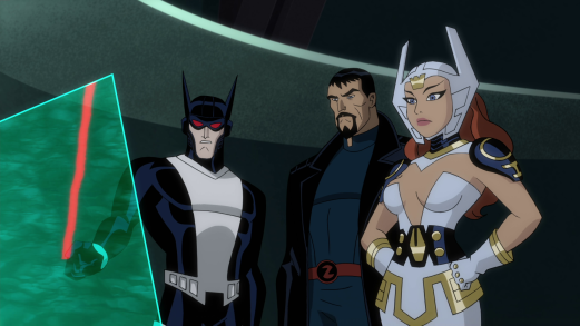 Justice League-Noticing A Familiar Heat Signature!