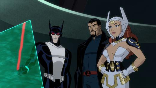 Justice League-Noticing A Familiar Heat Signature!