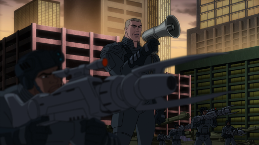 Steve Trevor-Surrender Now, Justice League!