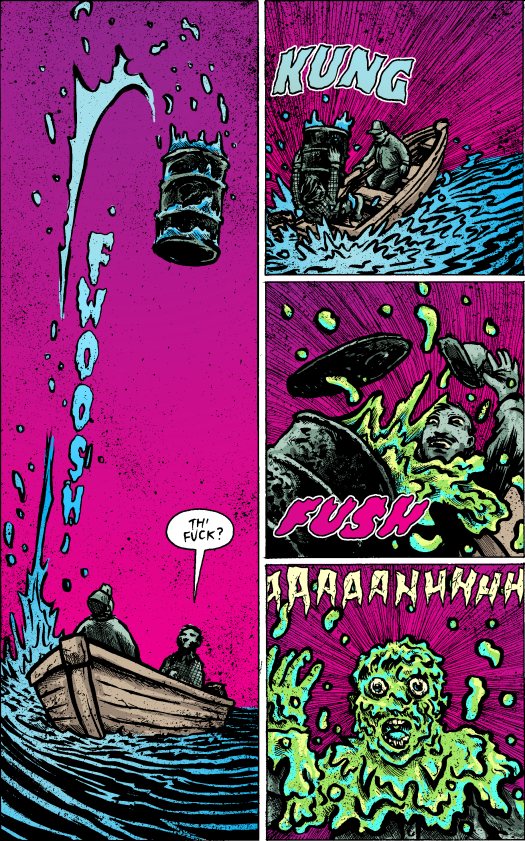 Lake Erie Monster No. 2-Deathly Surprise!