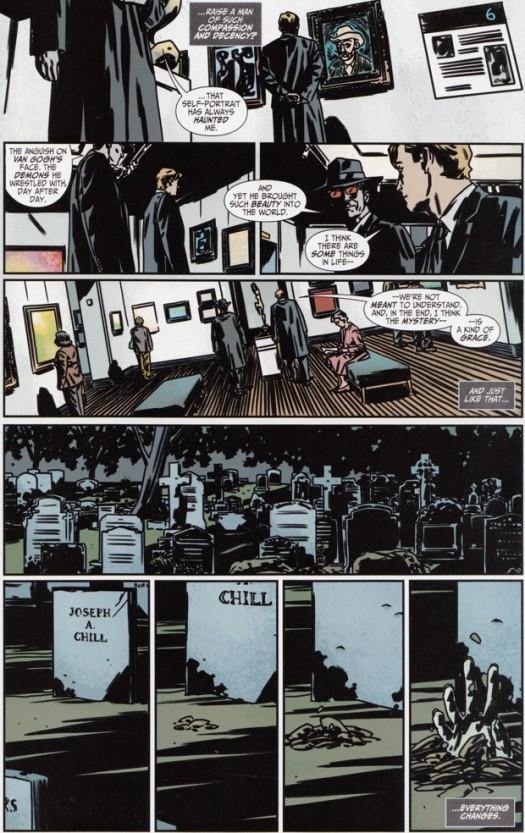 Batman No. 1-Conversations & Foreshadows!