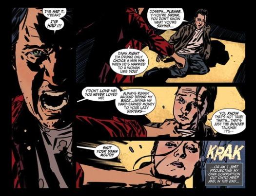 Batman No. 1-Drunk & Domestic!