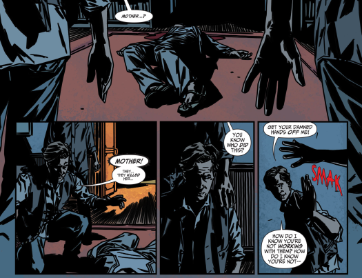 Batman No. 1-Friendship Shattered!