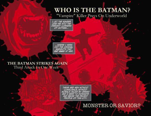 Batman No. 1!-The Hunt Begins!