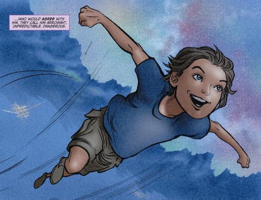 Superman No. 1!-The Beauty Of Flight!
