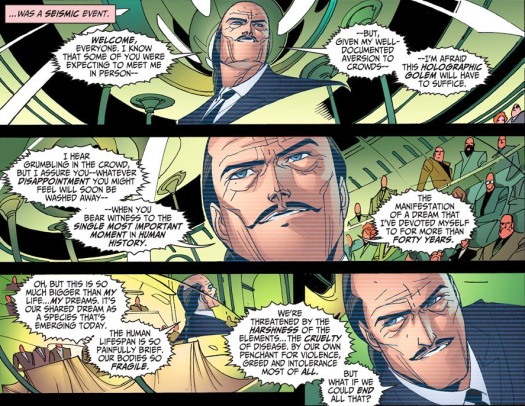 Justice League-Gods & Monsters No. 1-My Vision Of Perfection!