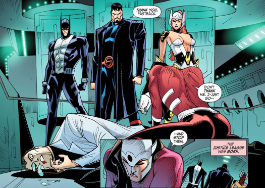 Justice League-Gods & Monsters No. 2-A League Is Born!