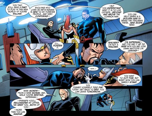 Justice League-Gods & Monsters No. 2-Teacher, Anyone!