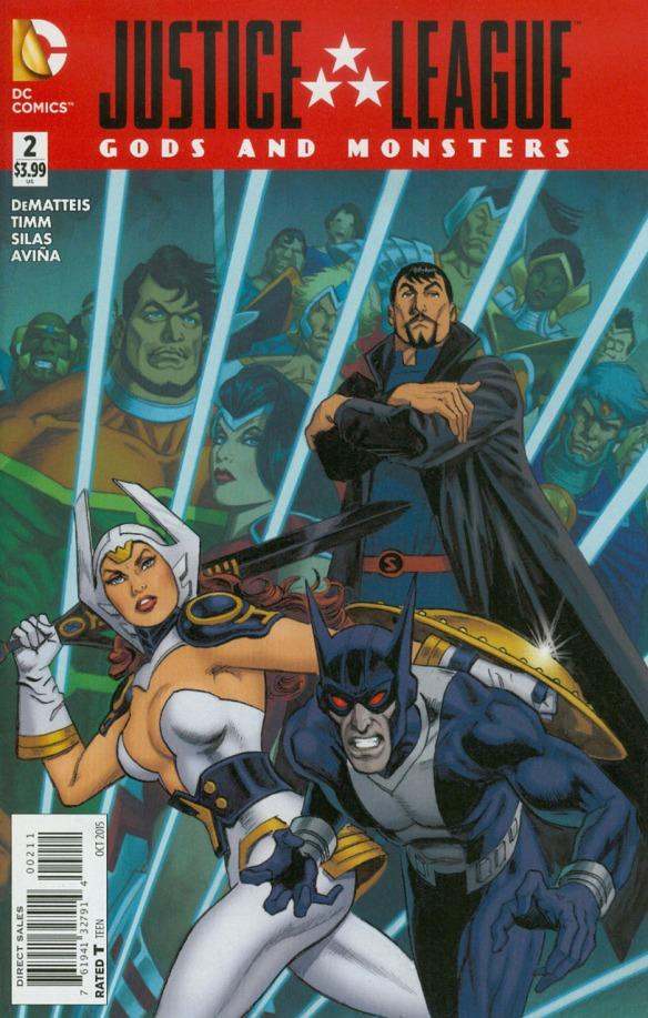 D C U A O M  Bonus: Justice League: Gods & Monsters #2 | Casual