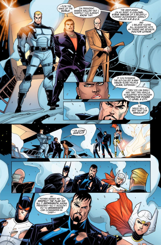 Justice League-Gods & Monsters No. 3-America Wants To Talk With You!