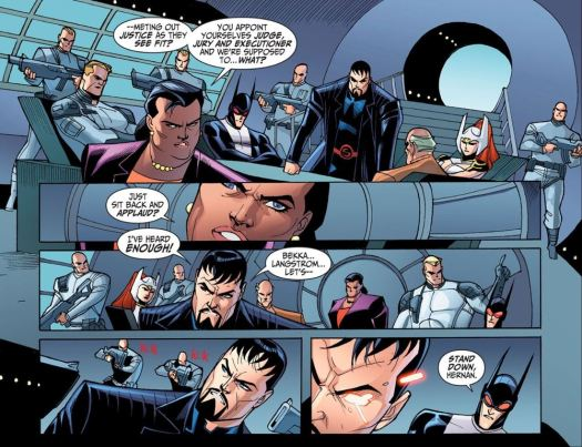 Justice League-Gods & Monsters No. 3-We Can't Let You Run Around Unchecked! (2)