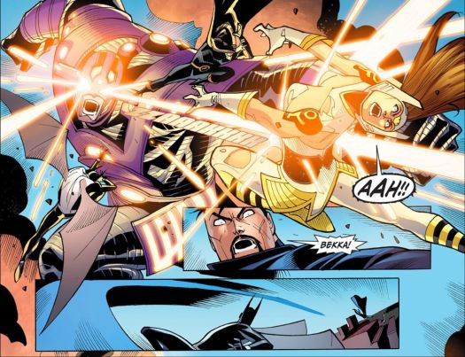 Justice League-Gods & Monsters No. 3-Wondey's Down!