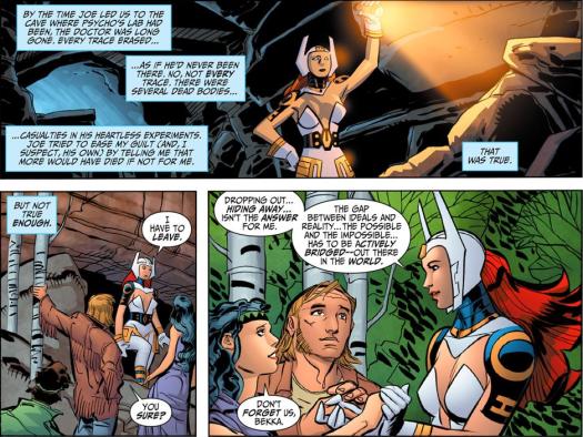 Wonder Woman No. 1-Escaped Doctors & Forging A Future!