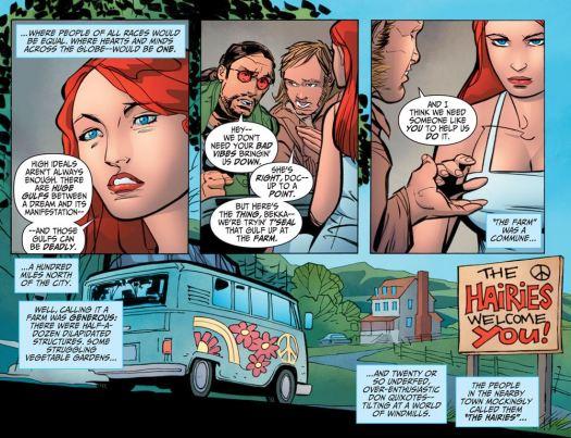 Wonder Woman No. 1-Invited To Hippietown!