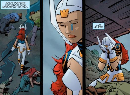 Wonder Woman No. 1-No Moral Victory Here!