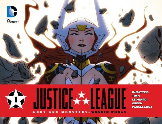 Wonder Woman No. 1-Title Card!