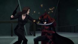 Batwoman-A Girl-On-Girl Grapple!