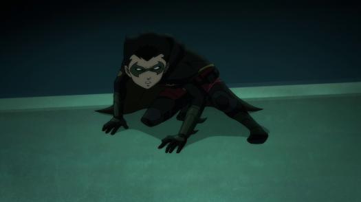 Robin-Justice, Not Vengence!