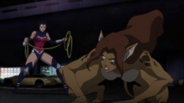 Wonder Woman-Down, Kitty!