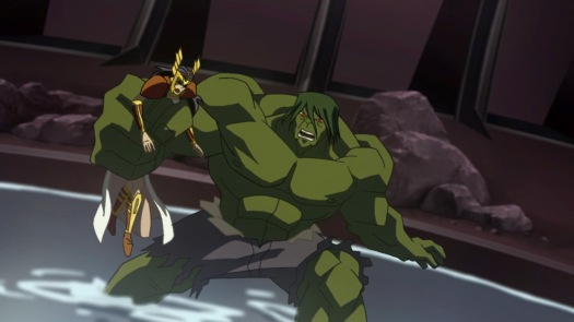 Hulk-Sword Lady Hurt Me No More!