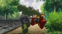 Thor-Clashed Against A Mind-Controlled Monster!