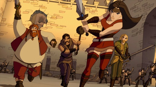lady-sif-the-warriors-three-fighting-as-one