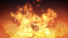 Hideki Kurohagi-Getting Fire-Bombed!