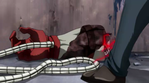 Omega Red-How Disarming!