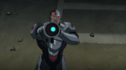 Cyborg-Not In This Movie!