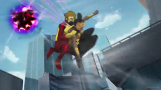Kid Flash-I've Got You, Bumblebee!