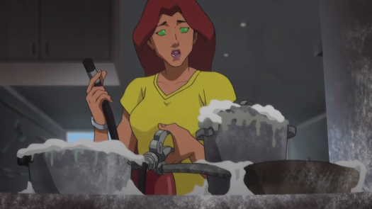 Starfire-Let's Do Take-Out, Dick!
