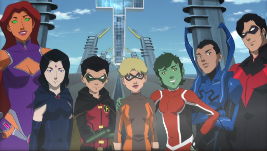 Teen Titans-Titans Together!