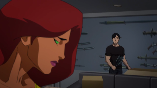 Nightwing & Starfire-A Minor Bad Vibe!
