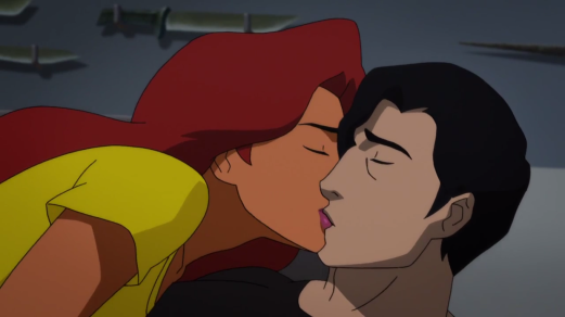 Nightwing & Starfire-Back To Romantic Matters!