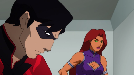 Nightwing & Starfire-Something Sinister Is Coming!