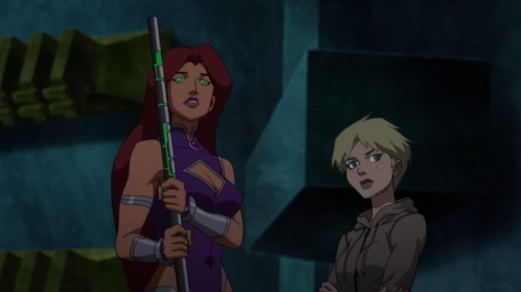 Starfire-Try Talking To Raven Sometime, Terra!